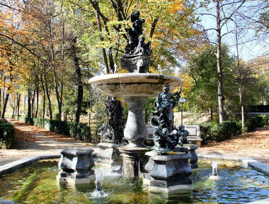 Jardines de aranjuez el curiosity for Fuentes de jardin