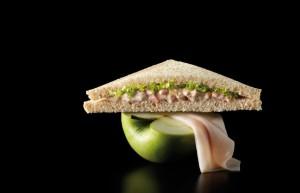 Sandwich de Pavo con Manzana
