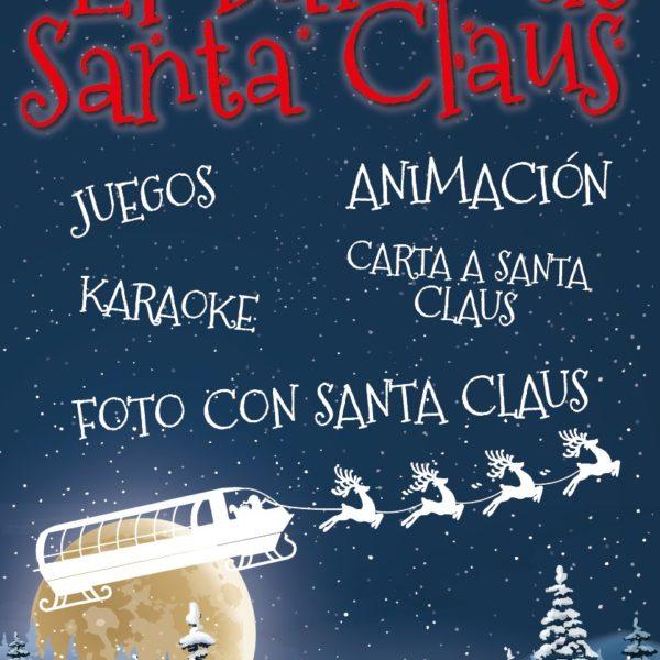 Cartel Barco de Santa Claus