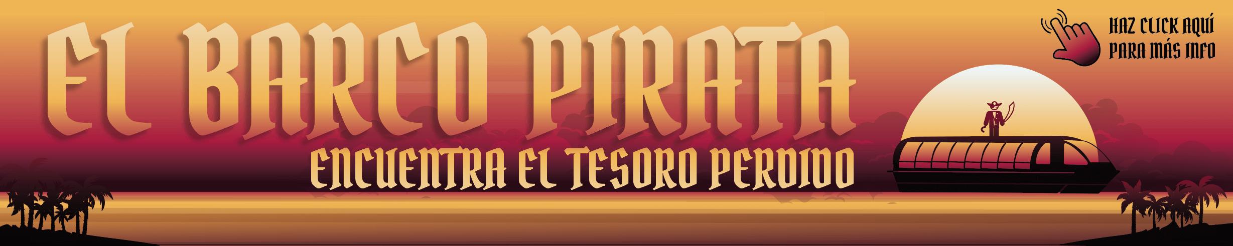 banner barco pirata